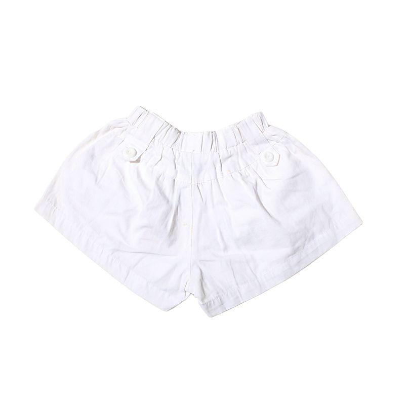 Adel & Audrey Pants 086 White Celana Anak Perempuan