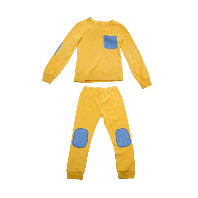 Adel & Audrey Top Pants 072 Yellow Setelan Anak