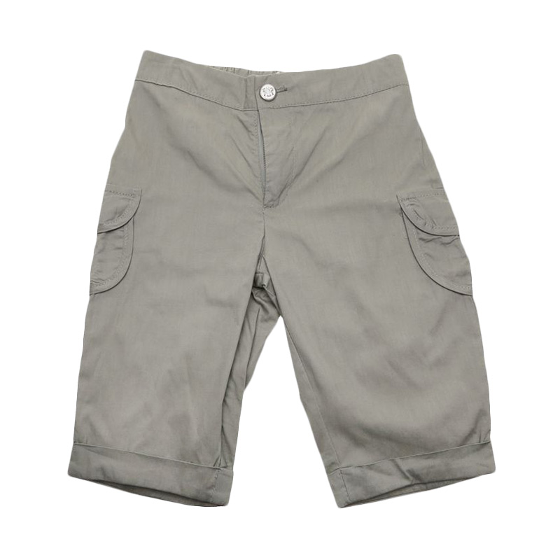 Adel & Audrey Pants 085 Grey Celana Anak