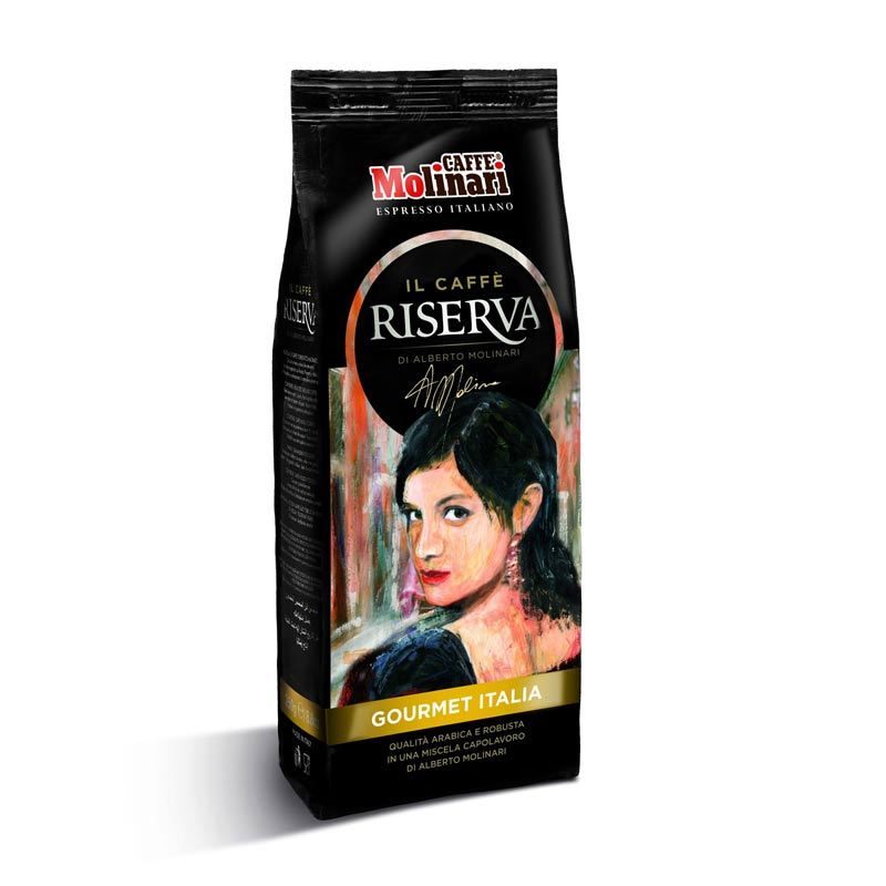 Caffe Molinari Riserva Gourmet Italia Ground Coffee [250 g]