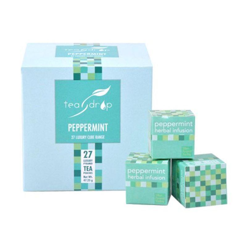 Teadrop 27 Cube Peppermint Teh
