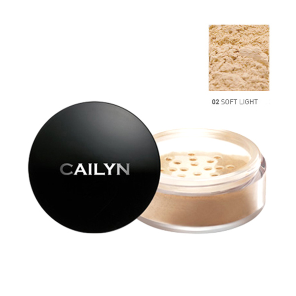 Cailyn Deluxe Mineral Foundation Powder 02 Soft Light
