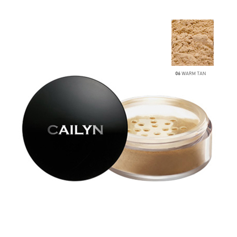 Cailyn Deluxe Mineral Foundation Powder 06 Warm Tan