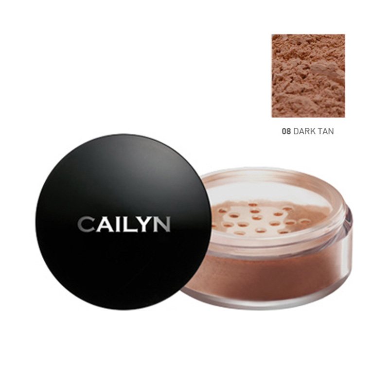 Cailyn Deluxe Mineral Foundation Powder 08 Dark Tan