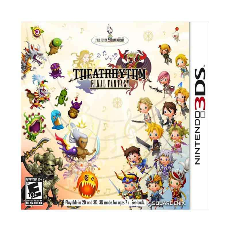Nintendo 3DS Final Fantasy Theatrhythm
