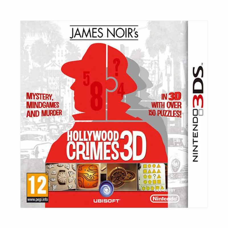 Nintendo 3DS James Noir's Hollywood Crimes 3D