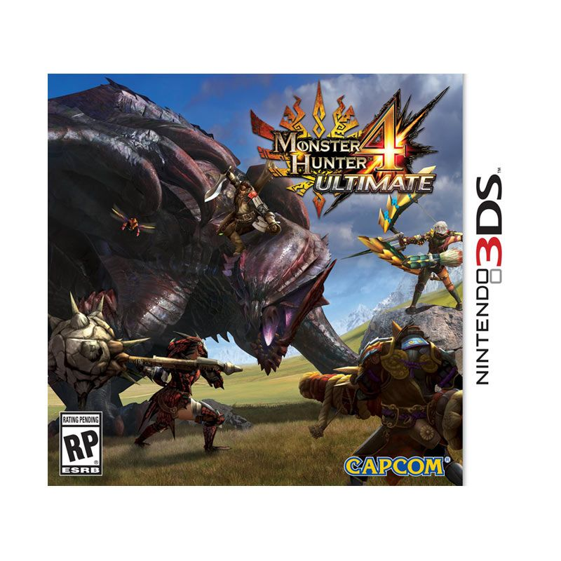 Nintendo 3DS Monster Hunter 4 Ultimate Games