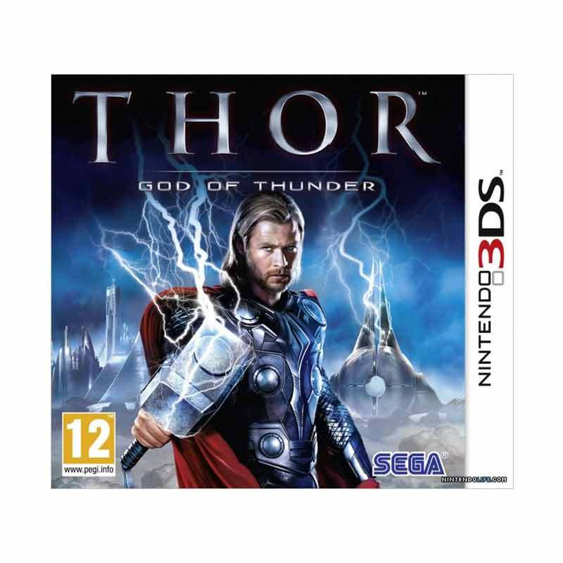 Nintendo 3DS Thor God Of Thunder