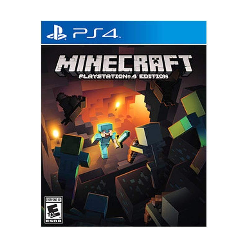 Playstation 4 Minecraft CD Game