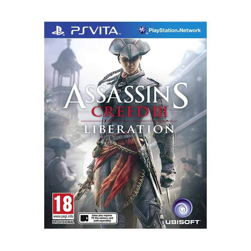 PS Vita Assasins Creed III Liberation