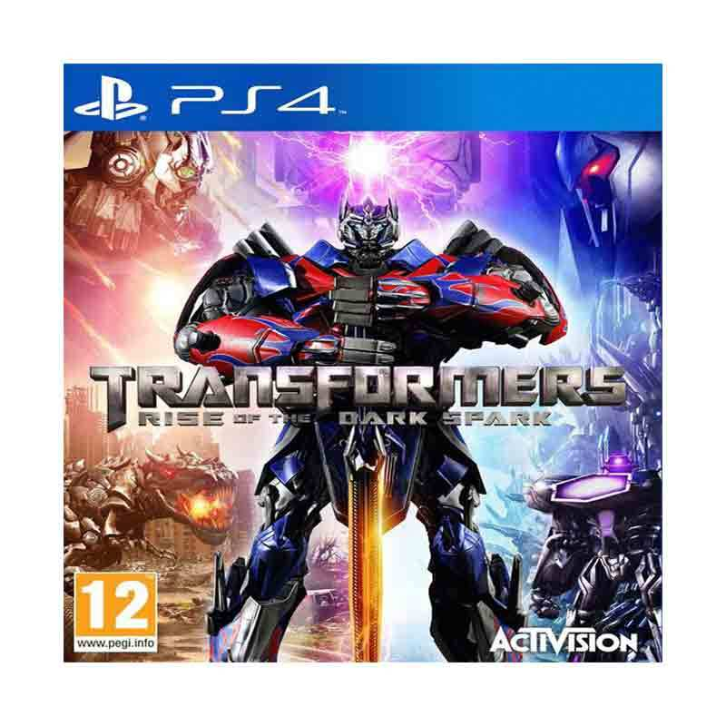 PS4 Game Transformer : Rise Of The Dark Spark
