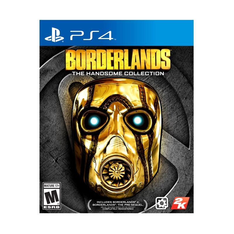 Sony PlayStation 4 Borderlands The Handsome Collection DVD Game