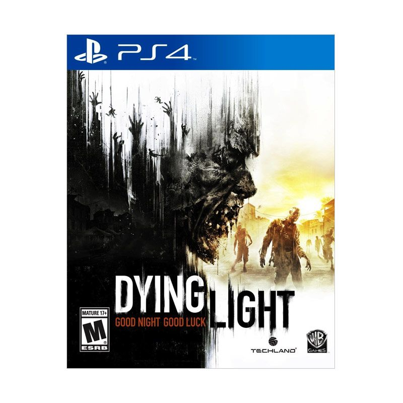 Sony PlayStation 4 Dying Light DVD Game