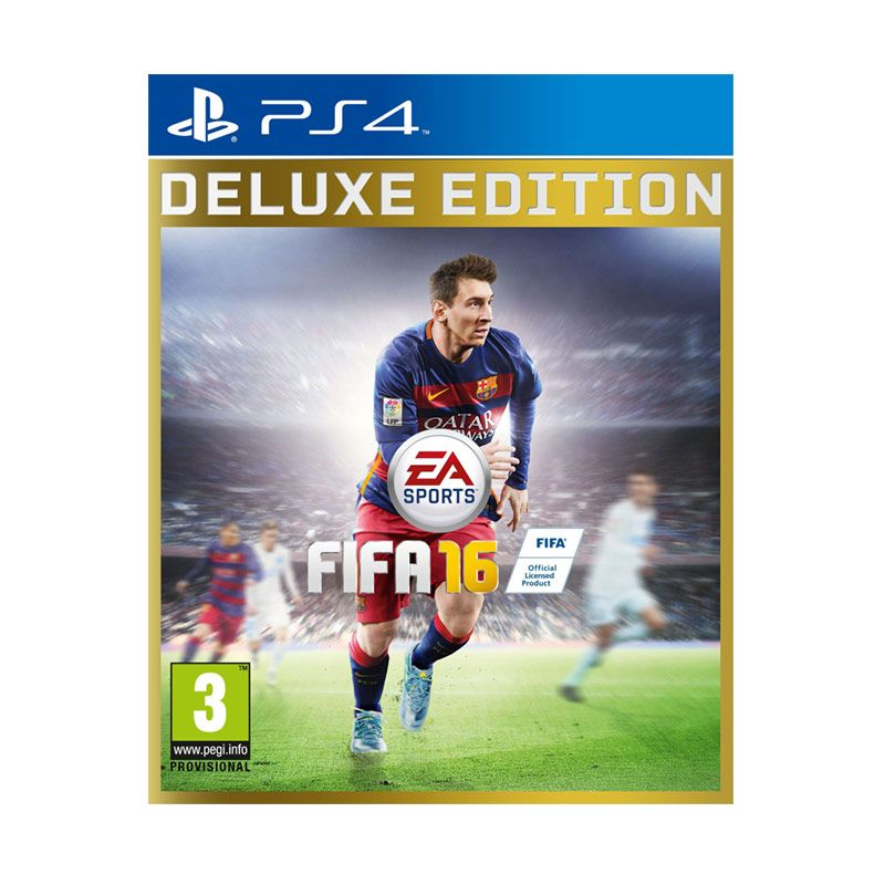 Sony PlayStation 4 FIFA 16 Deluxe Edition DVD Game PS4