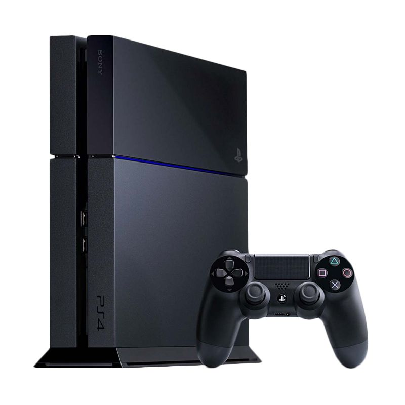 Sony Playstation 4 Jet Black Game Console [500 GB] + PSN 3 Month