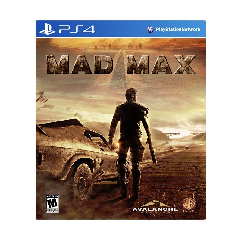 Sony PlayStation 4 Mad Max DVD Game
