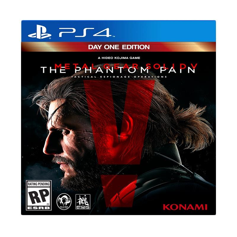Sony PlayStation 4 Metal Gear Solid V : Phantom Pain DVD Game