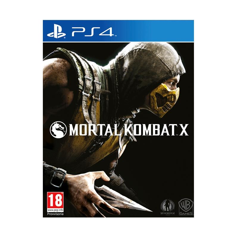 Sony PlayStation 4 Mortal Kombat X DVD Game