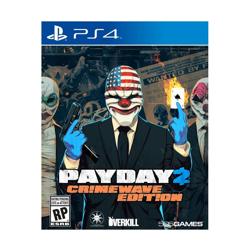 Sony PlayStation 4 PayDay 2 Crimewave Edition DVD Game