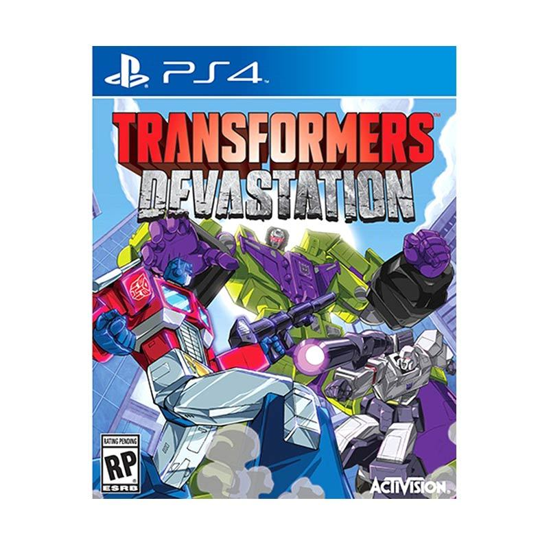 Sony PlayStation 4 Transformer Devastation DVD Game