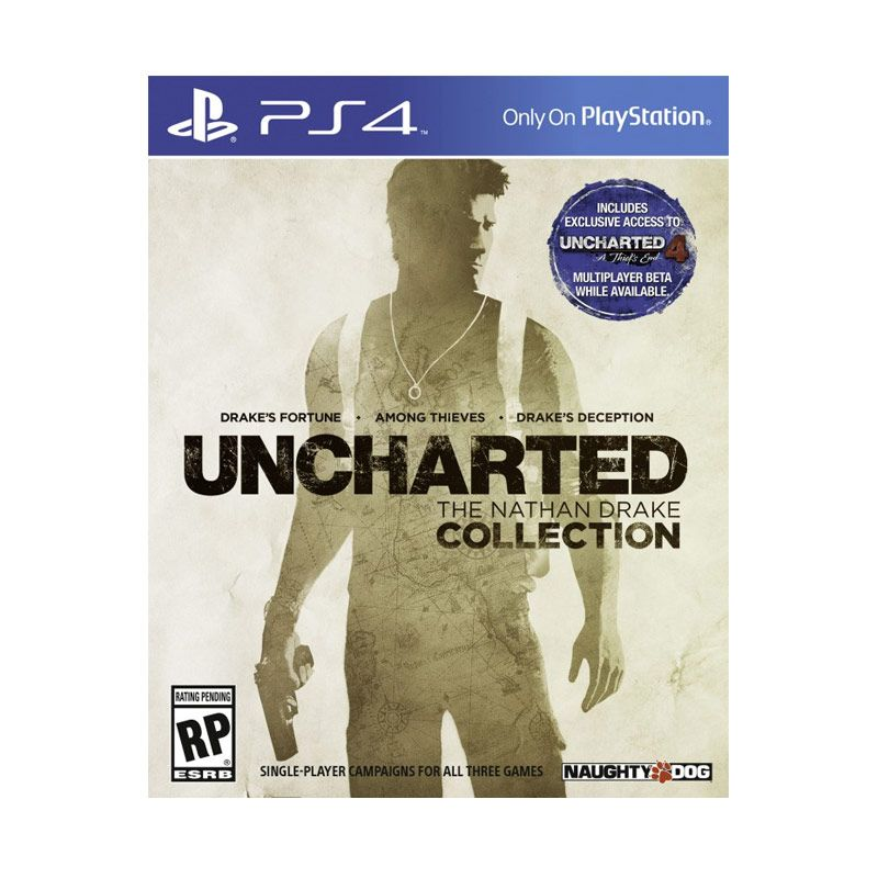 Sony PlayStation 4 Uncharted Collection DVD Game