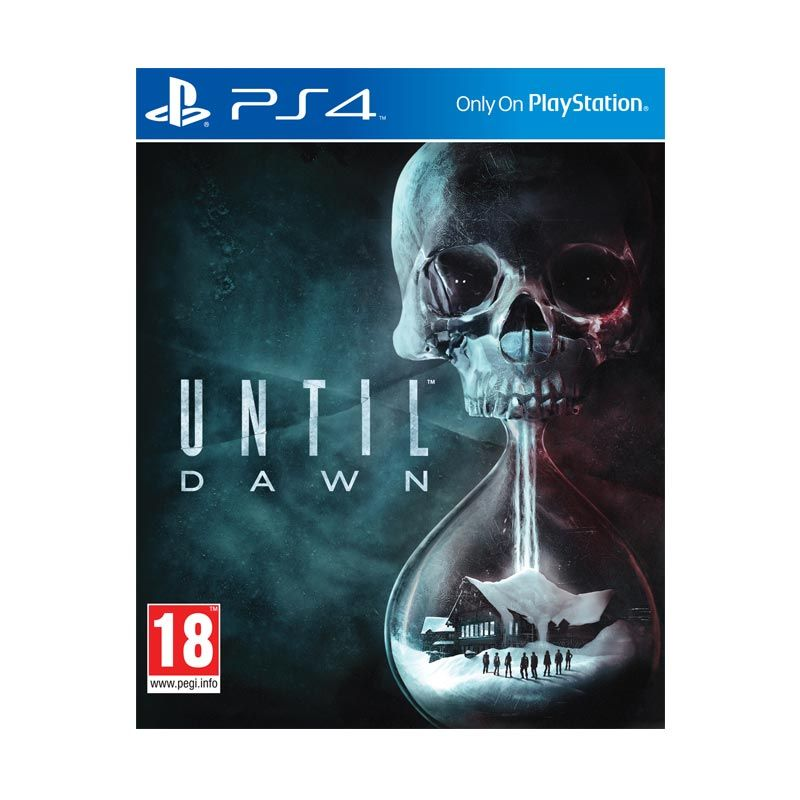 Sony PlayStation 4 Until Dawn DVD Game