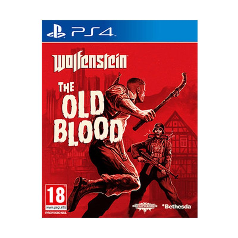 Sony PlayStation 4 Wolfenstein : The Old Blood DVD Game