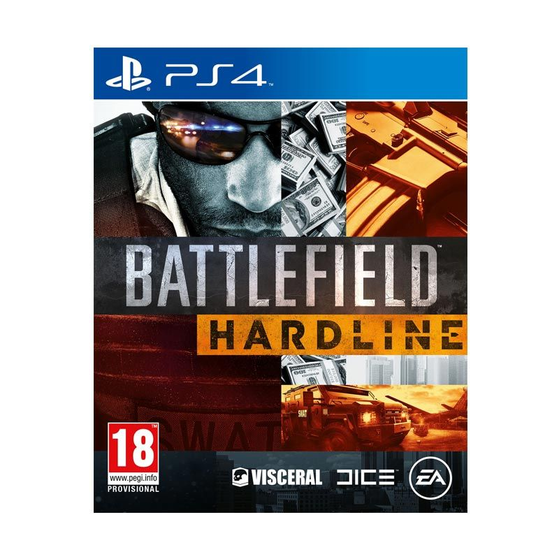 Sony PlayStation 4 Battlefield Hardline DVD Game