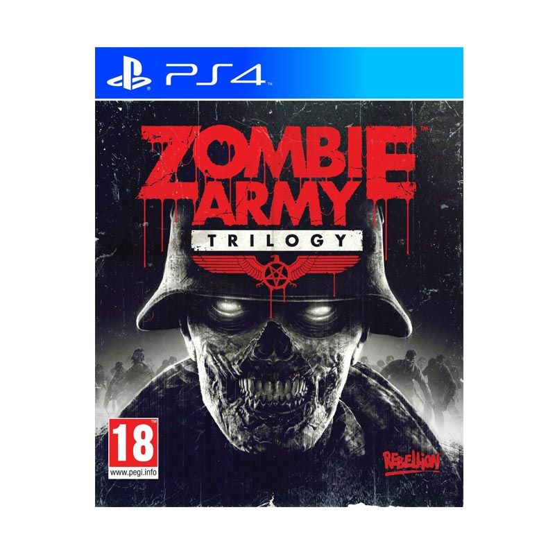 Sony PlayStation 4 Zombie Army Trilogy DVD Game