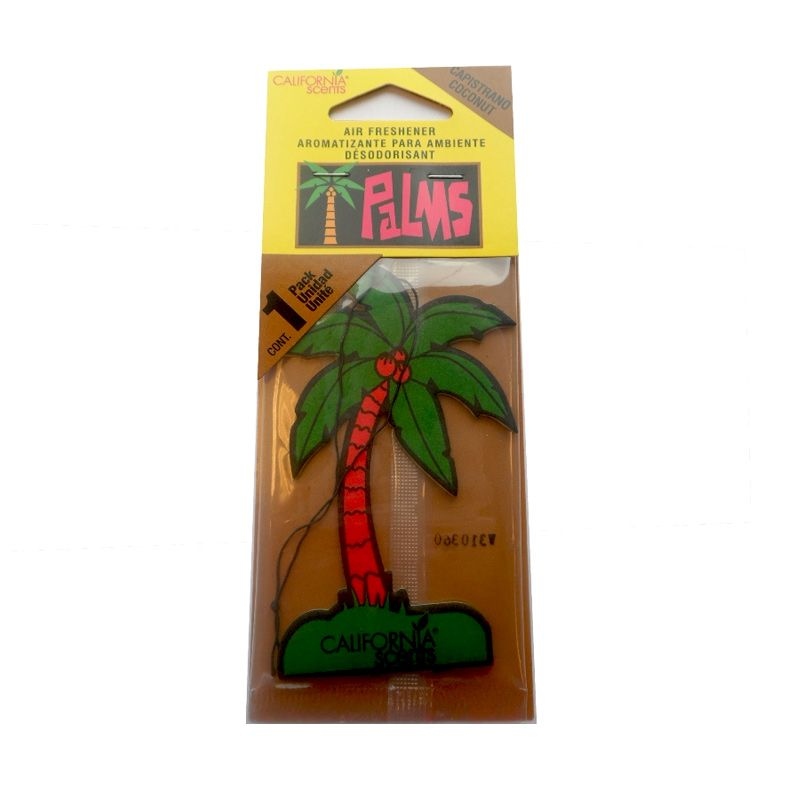 California Scents Palm Hang Outs  Capistrano Coconut Parfum Mobil