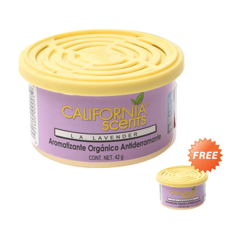 Buy 1 Get 1 California Scents Car Fragrance L.A Lavender Parfum Mobil
