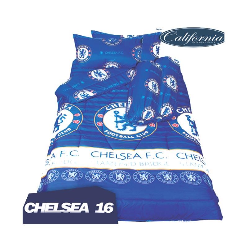 California B Motif Chelsea 16 Set Sprei [180 x 200 x 20 cm]