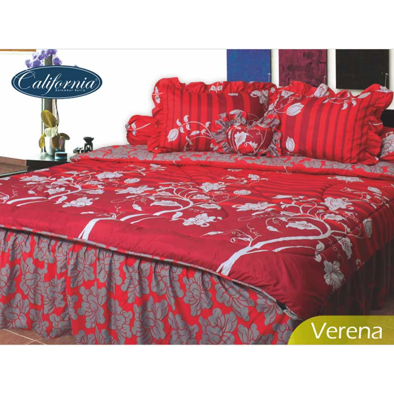 California B Motif Verena Bed Cover Set [180 x 200]