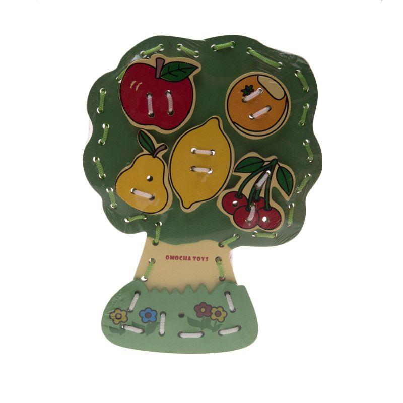 Cals Menjahit Pohon Buah Green Mainan Anak