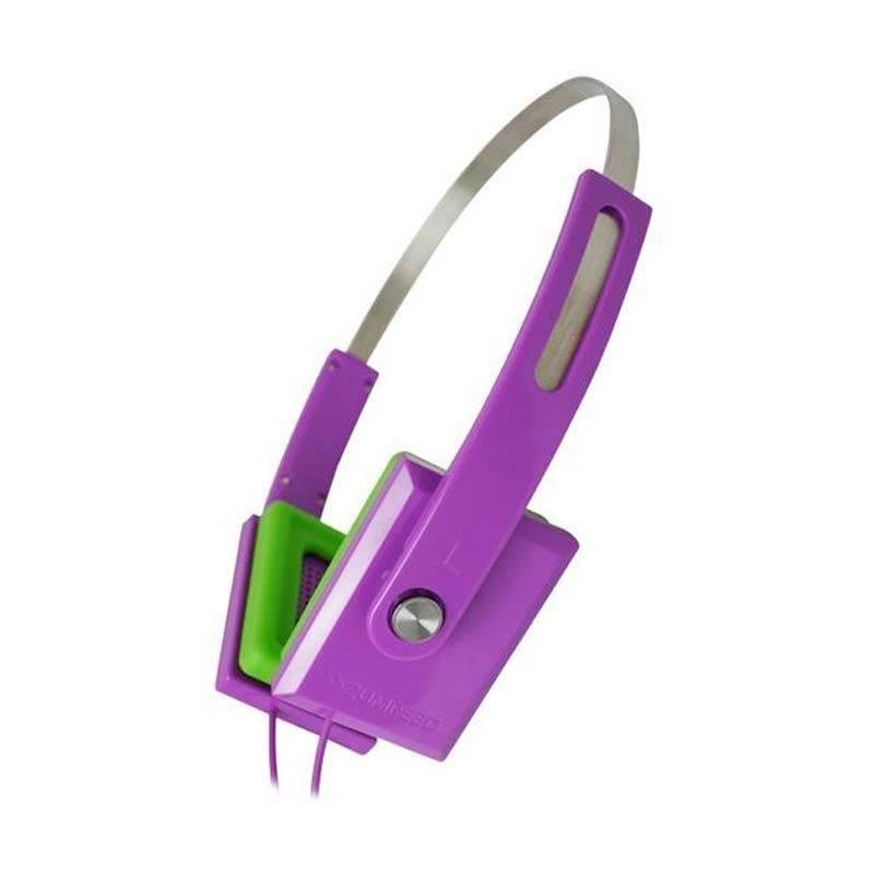Zumreed ZHP-008 Color earpad portable headphones Violet