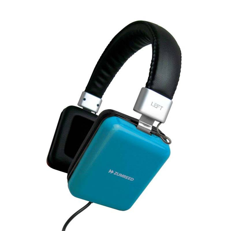 Zumreed ZHP-010 Square portable stereo headphones Blue
