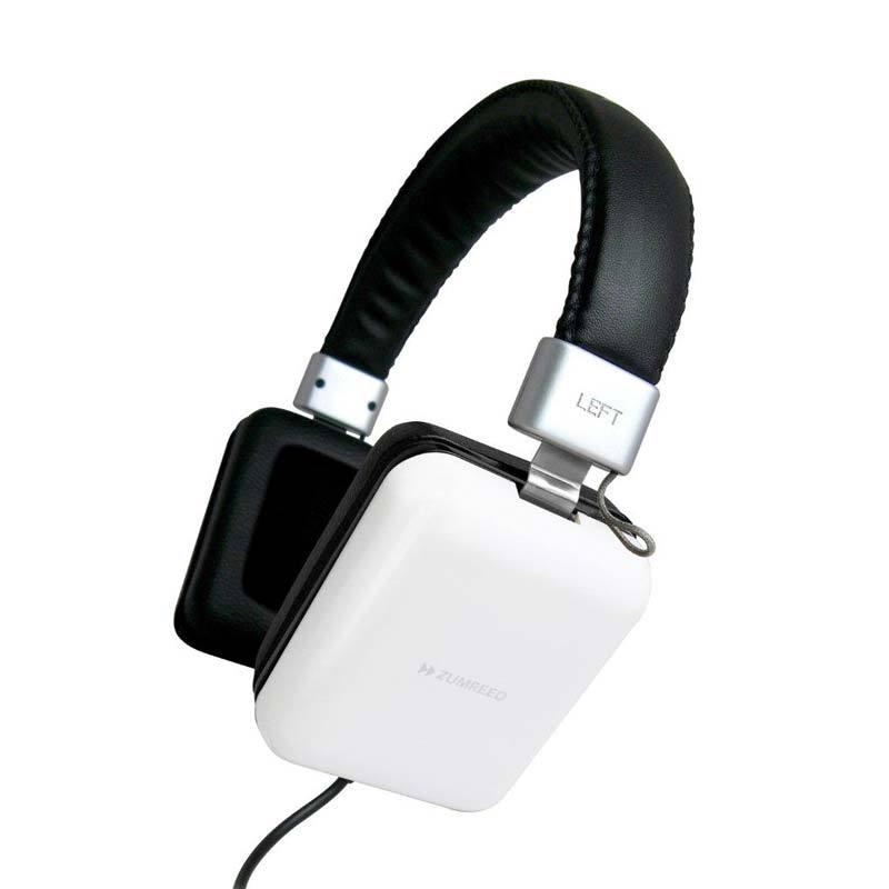 Zumreed ZHP-010 Square portable stereo headphones White