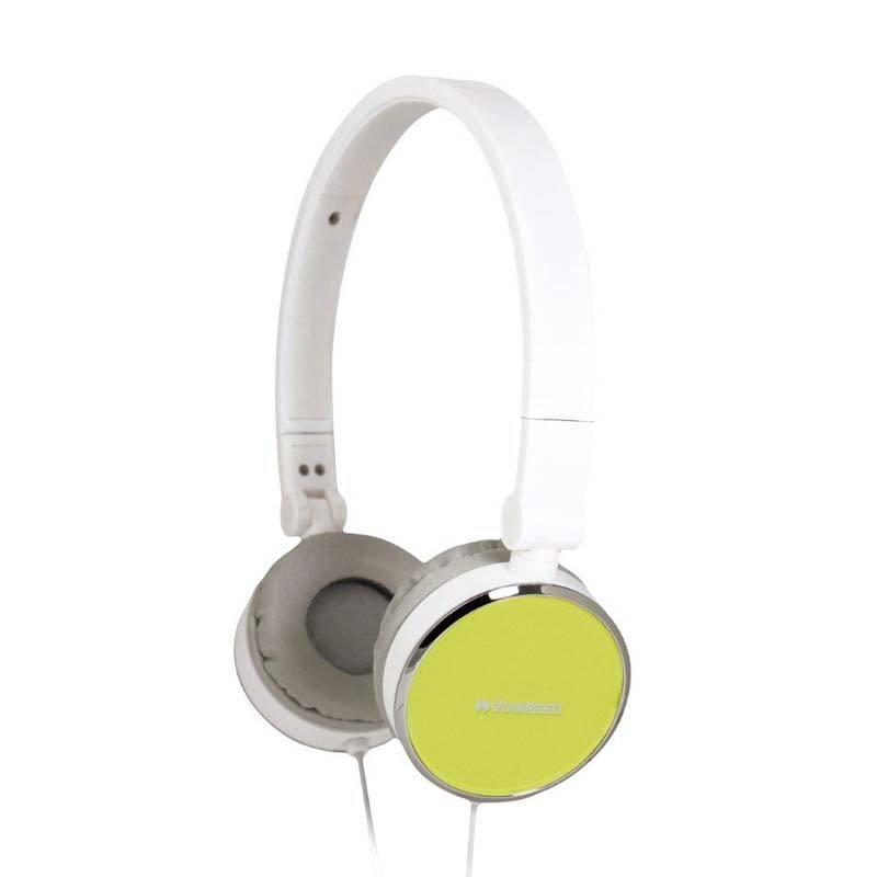 Zumreed ZHP-014 Sfit headphones Lime Yellow