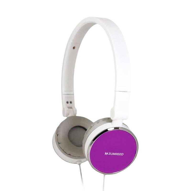 Zumreed ZHP-014 Sfit headphones Violet