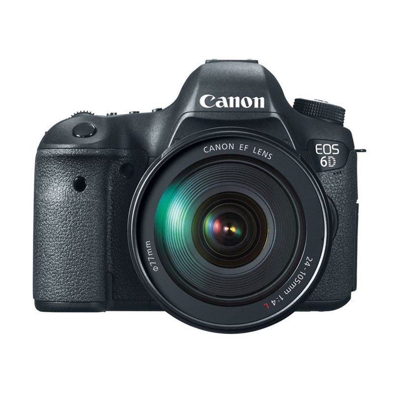 Canon EOS 6D Kit 24-105mm Kamera DSLR [Wi-Fi]