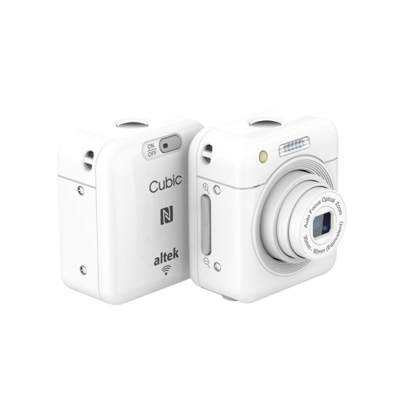 Altek Cubic White Wireless Kamera Pocket
