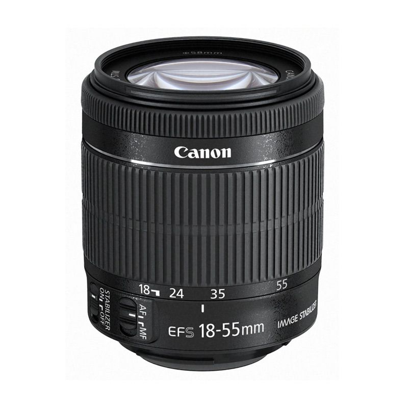 Canon EF-S 18-55mm f/3.5-5.6 IS STM Lensa Kamera