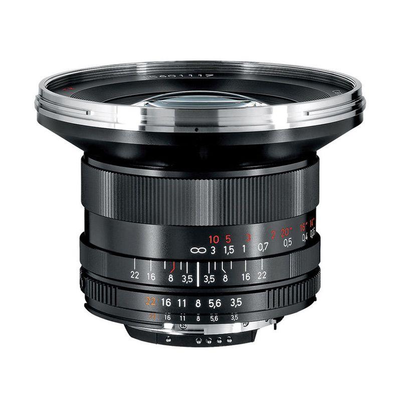 Carl Zeiss 18mm f/3.5 ZF.2 Distagon T Lensa Kamera for Nikon
