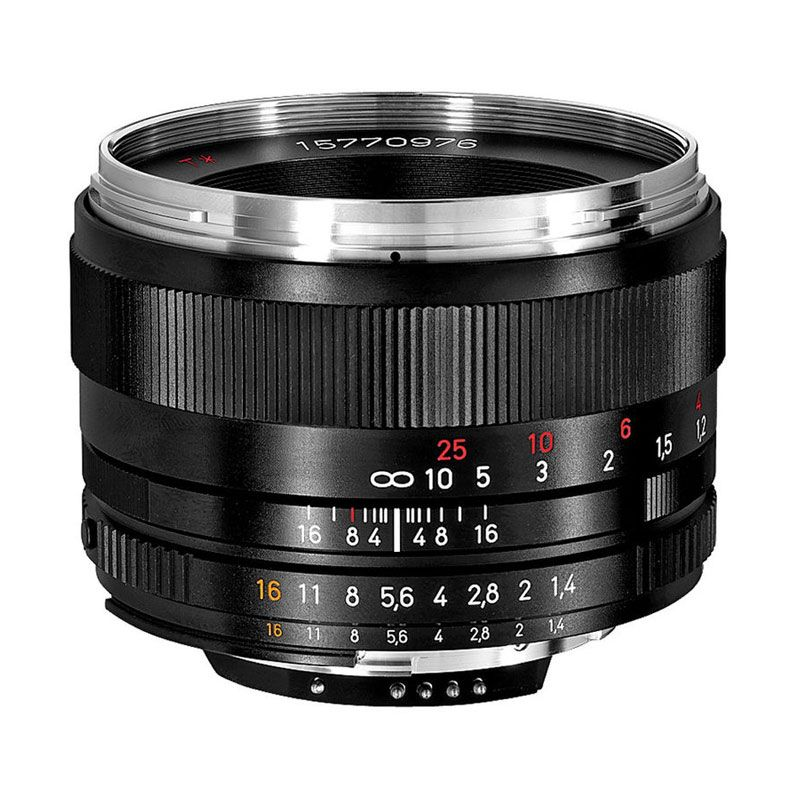 Carl Zeiss 50mm f/1.4 ZF.2 Planar T for Nikon Lensa Kamera