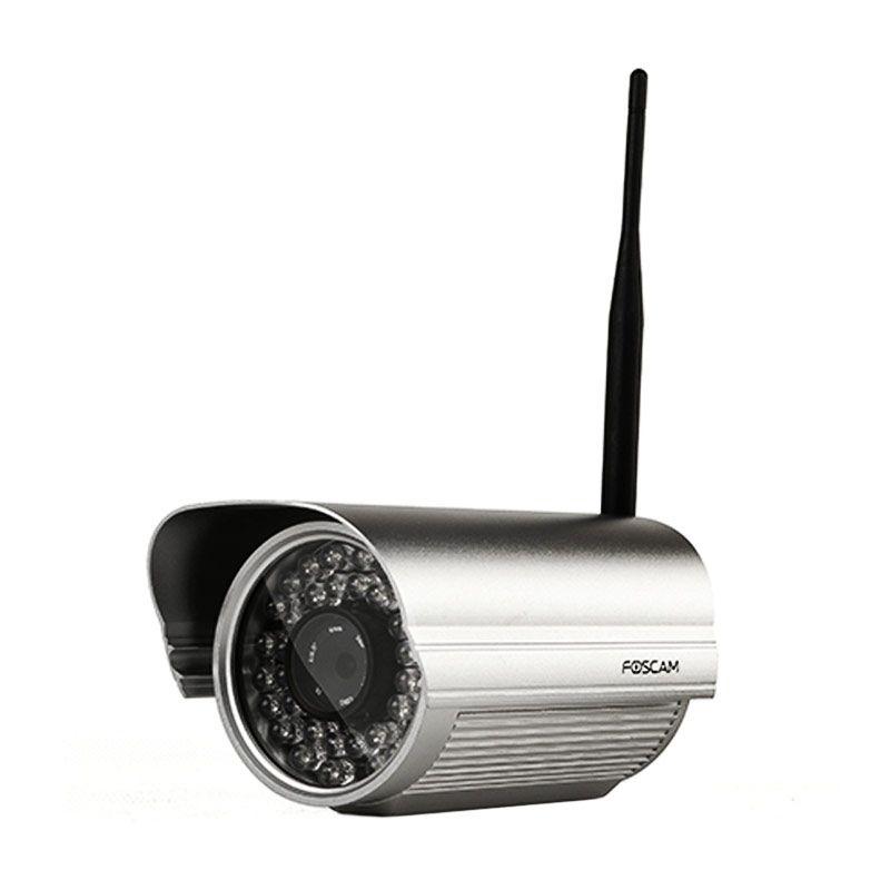Foscam FI9805W Outdoor Waterproof Silver Kamera CCTV