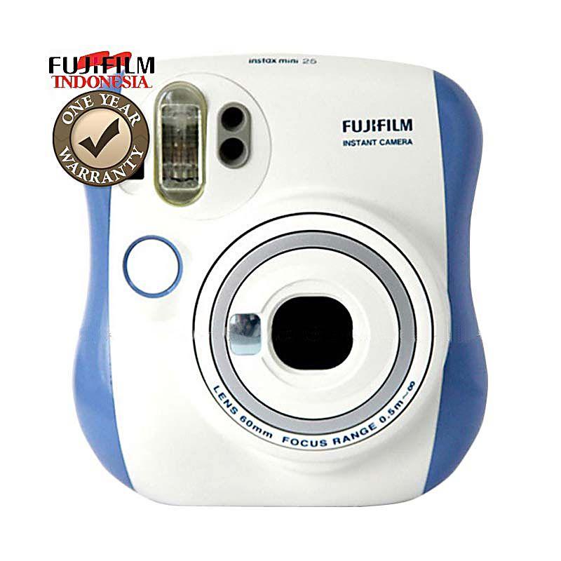 Fujifilm Instax Mini 25s Blue Kamera Pocket