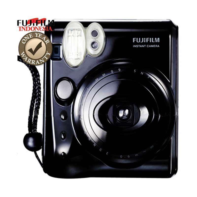 Fujifilm Instax Mini 50s Piano Black Kamera Pocket