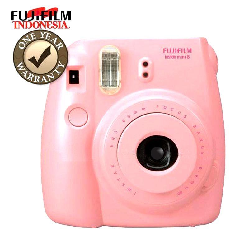 Fujifilm Instax Mini 8s Pink Kamera Pocket
