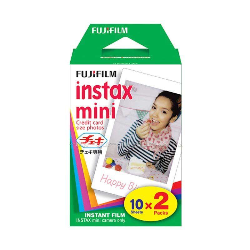 Fujifilm Instax Mini Twinpack Plain Instant Film [Refill]