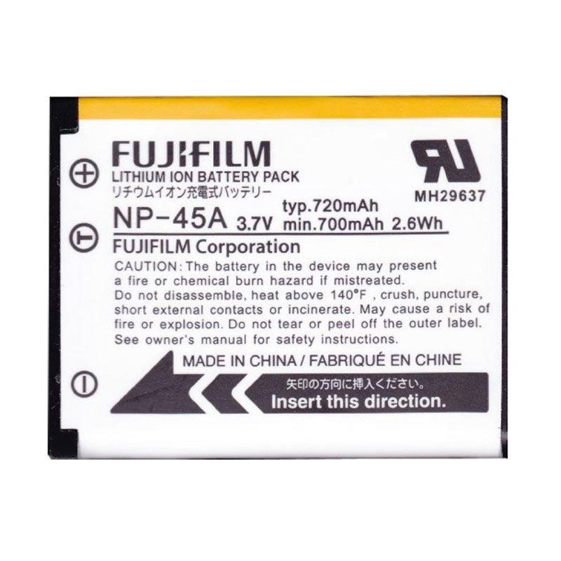 FujiFilm Li-ion NP-45A White Baterai Kamera
